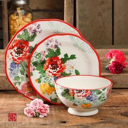 The Pioneer Woman 12-Piece Dinnerware Set Starter Floral Dis