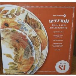 Member's Mark 12 Piece Melamine Dinnerware Set, BPA FREE F
