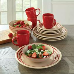 16-Pc. Dinnerware Set