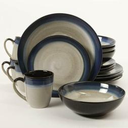 16 Piece Dinnerware Set Kitchen Bowls Plate Mug Lightweight