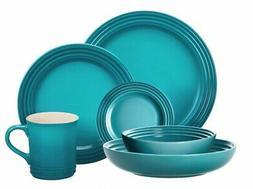 Le Creuset 24-Piece Dinnerware Set Stoneware   Caribbean