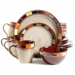 Dinnerware Set Service for 4-Lunch, Dinning, Kitchen, Home,