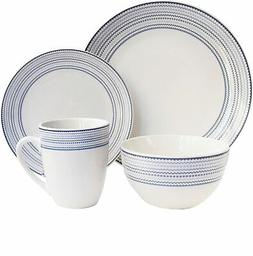 "American Atelier 7083-16-RB Cadence Dinnerware Set, 10.5"" x"