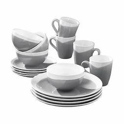 American Atelier 7265-16-RB Oasis 16 Piece Round Dinnerware