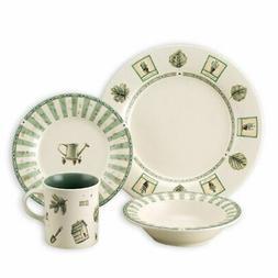 Pfaltzgraff Naturewood 16-Piece Stoneware Dinnerware Set
