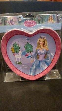 Barbie 3 piece heart shaped dinnerware set. BUY 1 GET 1 FREE