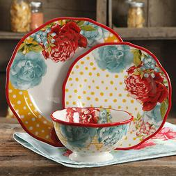 The Pioneer Woman Blossom Jubilee 12 Piece Dinnerware Set