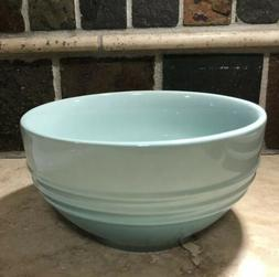 """""""Cool Mint"""" LE CREUSET 6"""" Round Soup Cereal Bowl Stoneware N"""