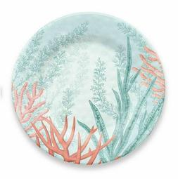 Coral Reef Collection Melamine 12 Piece Dinnerware Set by Ta