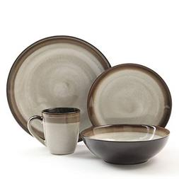 Gibson Elite 90602.16RM Couture Bands 16-Piece Dinnerware Se