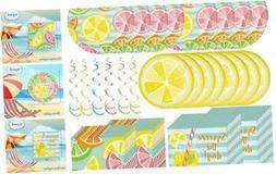Creative Converting Summer Citrus Dinnerware Bundle | Plates