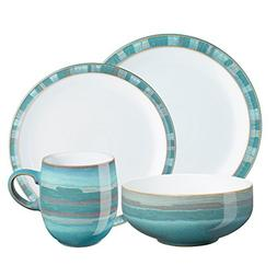 Denby Dinnerware, Azure Coast 4-Piece Place Setting