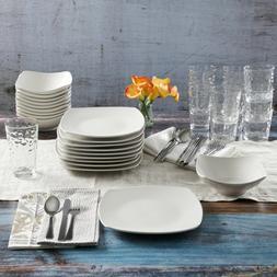 Dinnerware, Gibson Home 48-Piece White Kitchen Basic Essenti