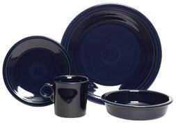 4 Piece Dinnerware Set, Cobalt