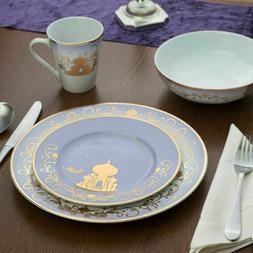 Disney Princess 16 Piece Dinnerware PLATE Set THINKGEEK arie