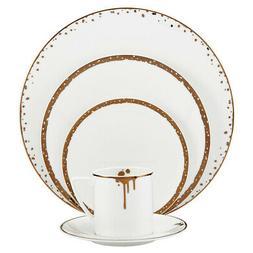 Mikasa Dorian Gold 40 Piece Dinnerware Set