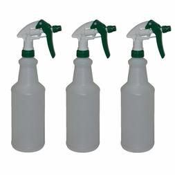 Empty Trigger Spray Bottles Plastic Heavy Duty Commercial Sp