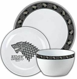 Game of Thrones House Stark Dinnerware Set