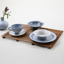 Handmade Ceramic Bowl Plate Dinnerware Set Brunch Dessert Se