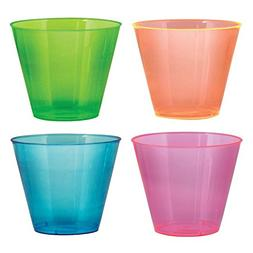 Party Essentials Hard Plastic 9-Ounce Party Cups/Old Fashion