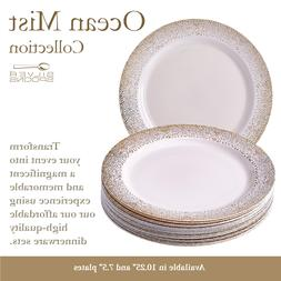 Disposable Dinnerware Set for Birthday & Dining Party Plate