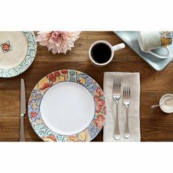 Corelle Impressions 16-Piece Dinnerware Set Watercolors Plat