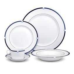 Mikasa Jet Set Blue Dinnerware Set