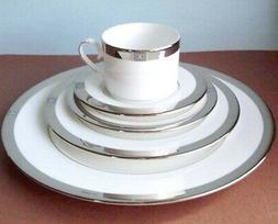 Lenox Jewel Platinum 5 Piece Place Setting Dinnerware Set Ma