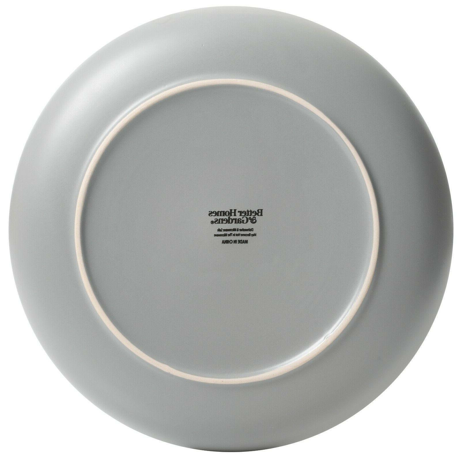 12 Dinnerware Dishwasher Matte Stoneware