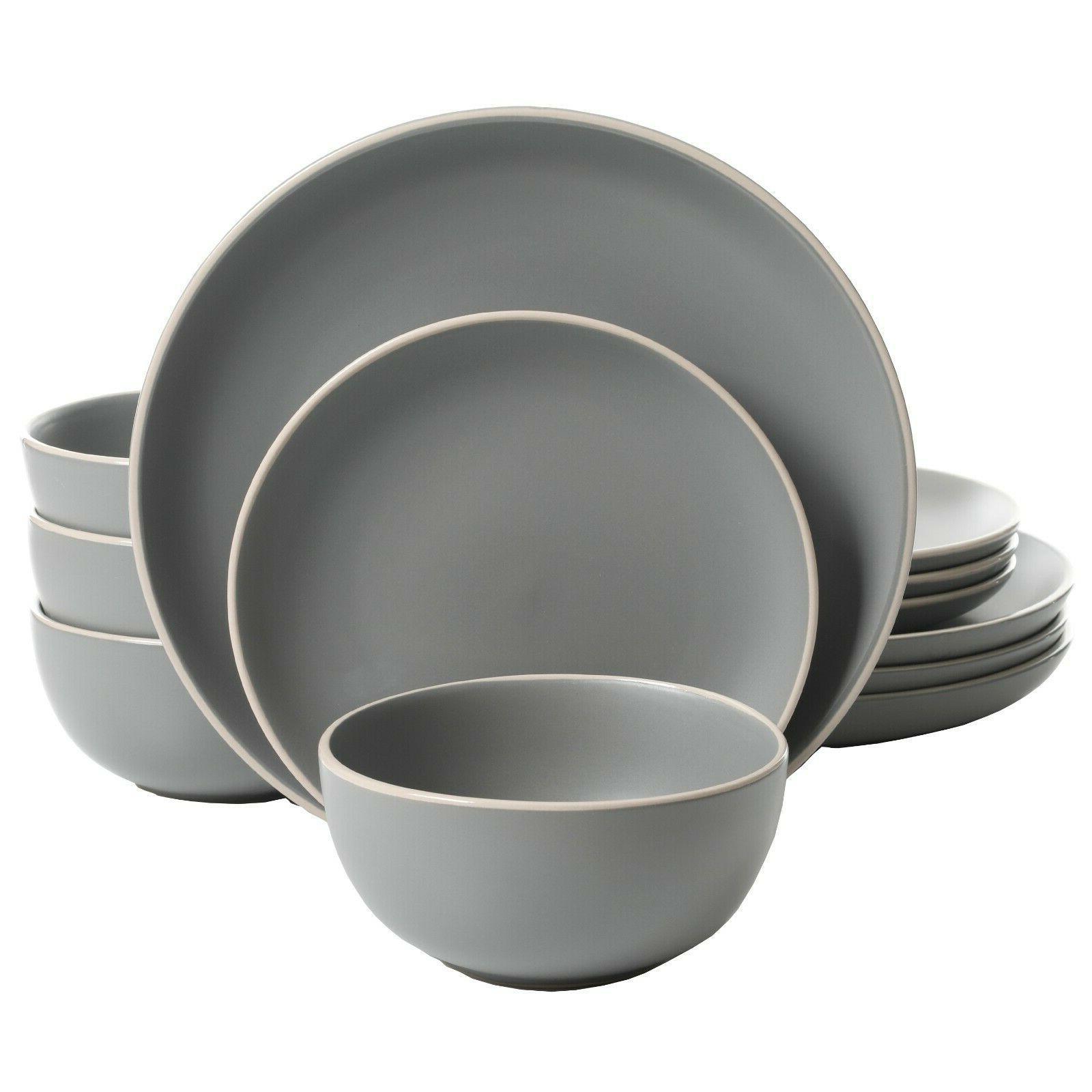 12 Dishwasher Stoneware for
