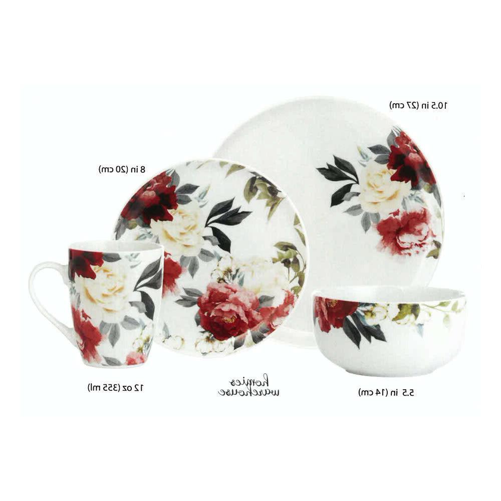 16 Piece Porcelain