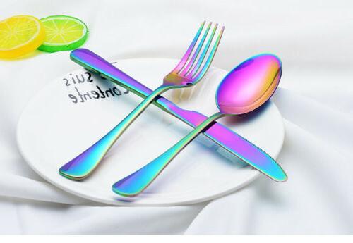20PCS/Set Stainless Dinnerware Dinner Spoon