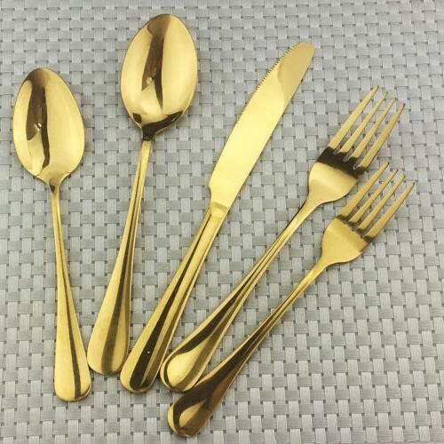 30pcs set dinnerware set food grade stainless