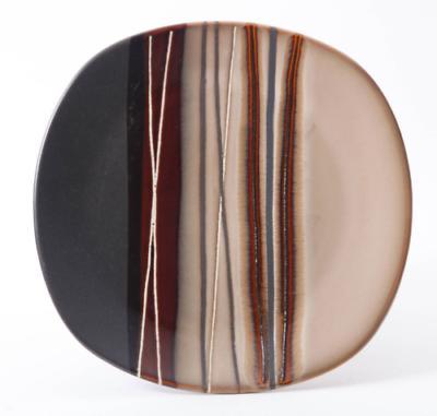32 Square Set Stoneware Plates Kitchen Mugs