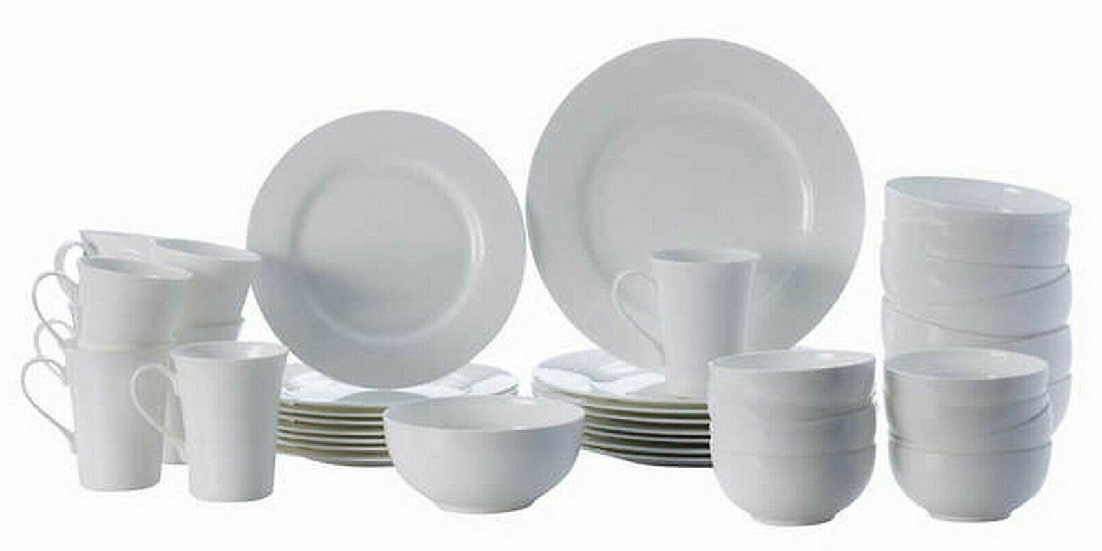 40 Piece Dinnerware Service Set Lausanne