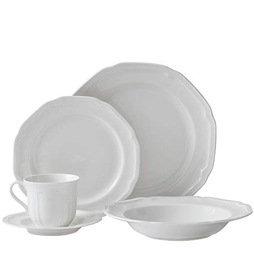 5224779 antique white dinnerware set