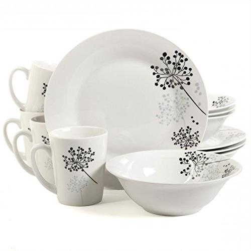 91698 12 fine ceramic dinnerware