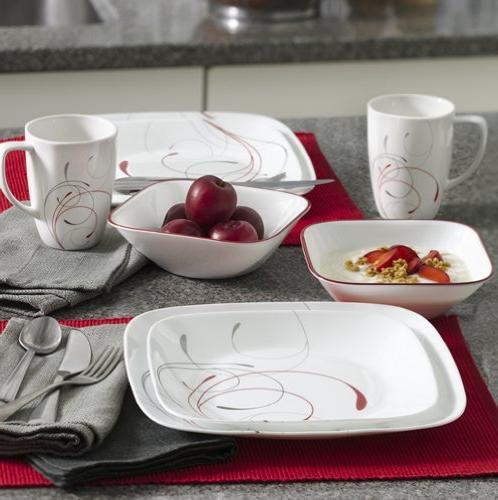 Corelle 16-Piece Dinnerware Set, 4