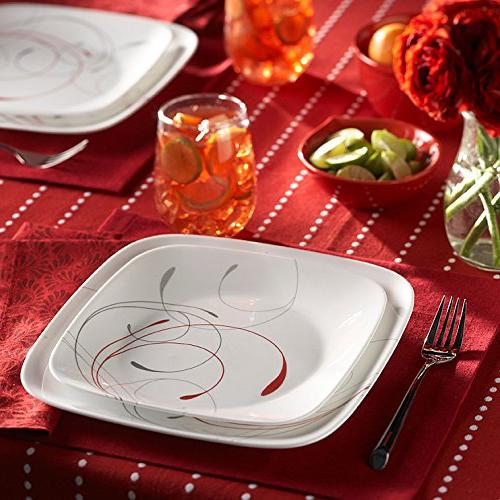 Corelle Dinnerware Set, 4