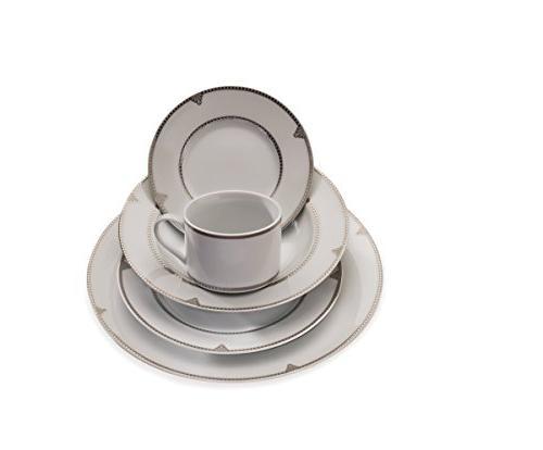 Mikasa Regent Porcelain Dinnerware Set, Service for