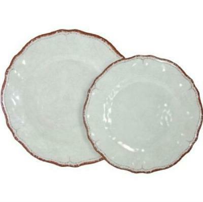 Le Cadeaux White Dinner Bowls 12-PC