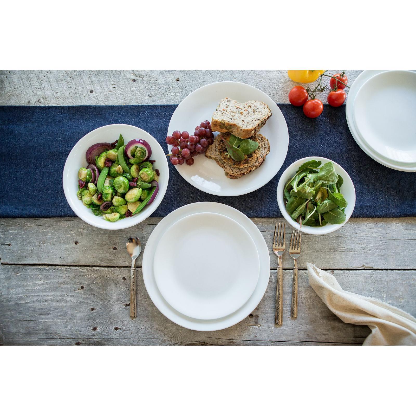 Corelle White 16-Piece Dinnerware Color Multicolor