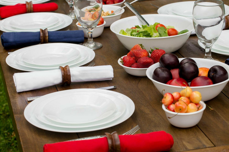 Corelle Winter White Dinnerware Color