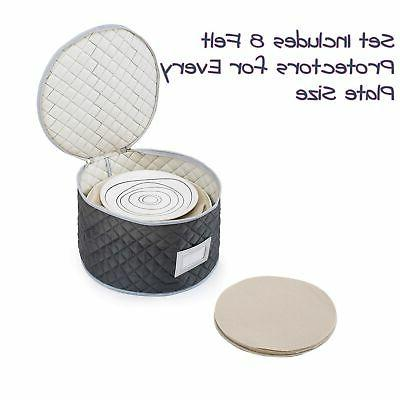 Complete Dinnerware Best Protection or Transporting F...