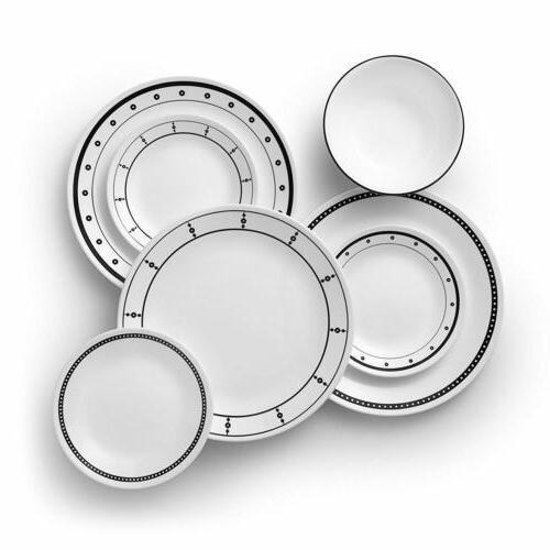 Corelle 18-Piece Service for 6, Chip Resistant, Country Cott