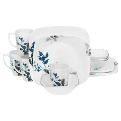 CORELLE Dinnerware Leaves Stackable/Chip Resistant