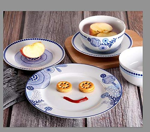 Dinnerware Set,Doublewhale Service and Plate and True