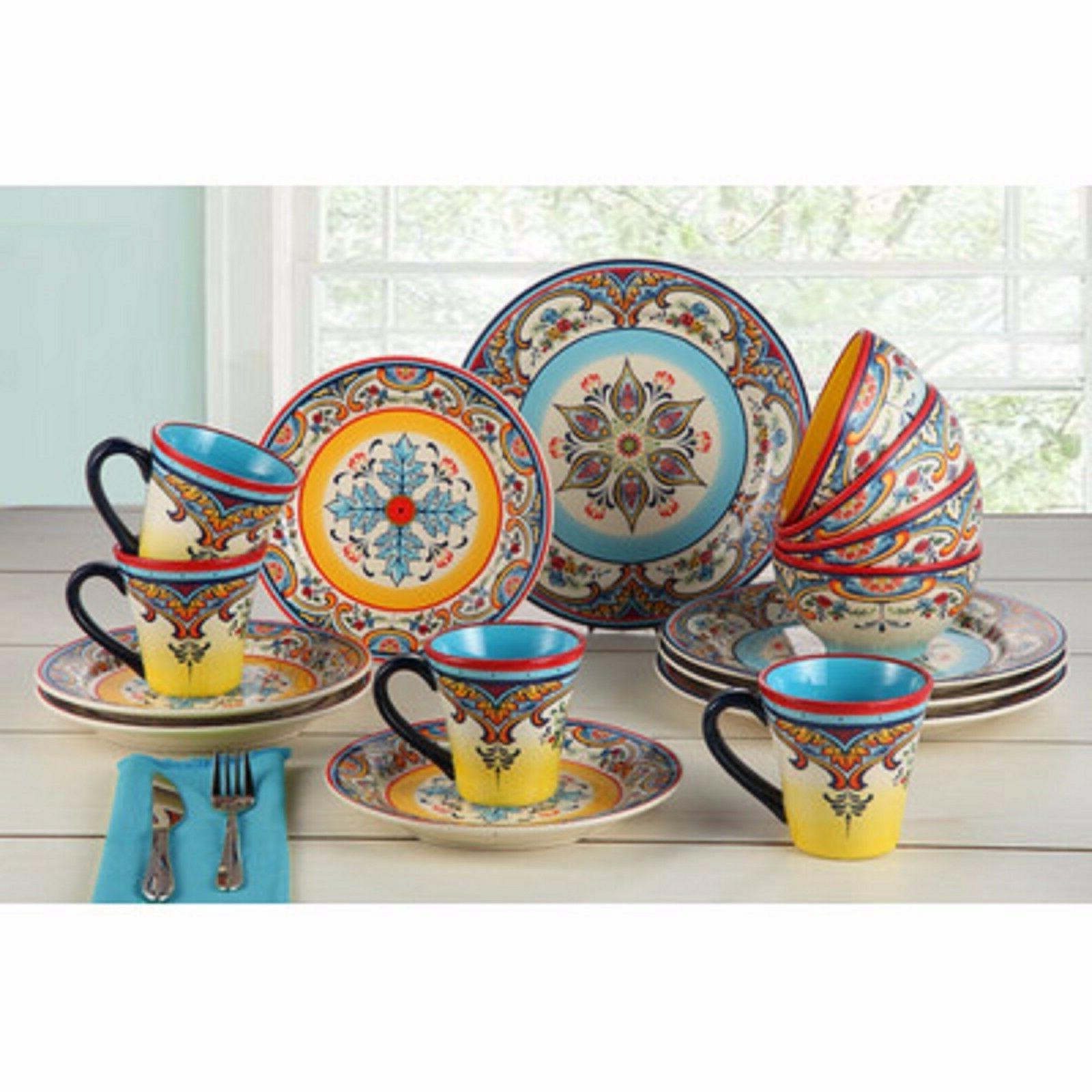 Dinnerware Set by Zanzibar Dishes Plates Cups