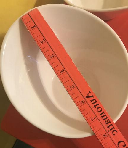 10 DINNERWARE White Soup Pasta Angled 2