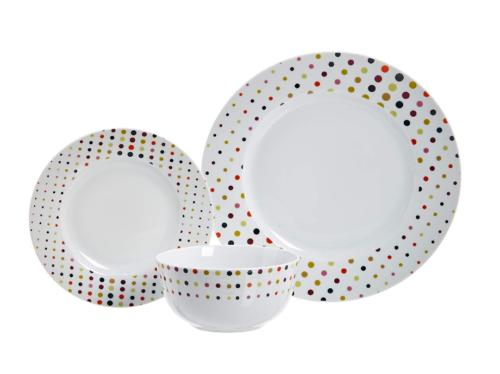 Dots - 18-Piece Dinnerware Service for